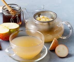 Apfel-Zwiebel-Tee