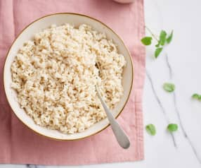 Cuire du riz long complet