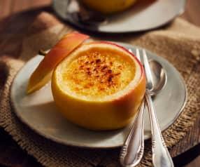 Crème-brûlée-Äpfel