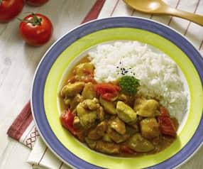 Japanisches Chicken-Curry
