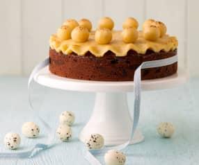 Torta di marzapane (Simnel Cake)