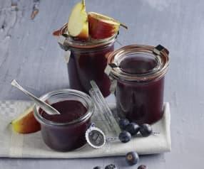 Apfel-Heidelbeer-Sauce