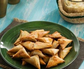 Samosas de pollo - India