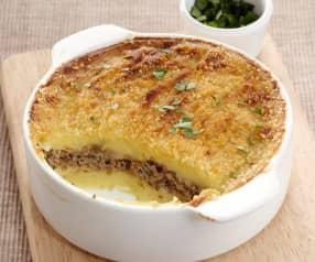 Pastel de carne y patata (Hachis Parmentier)
