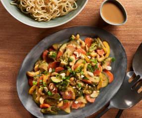 Vegan Cashew Sauté