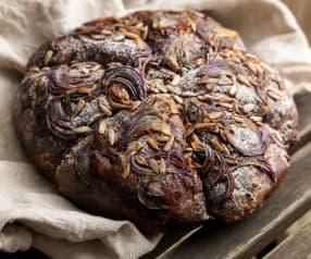 Red Onion and Garlic Soda Bread