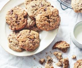 Petits cookies végans au chocolat