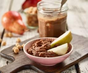 Kakaovo-cizrnová pomazánka s arašídovým máslem