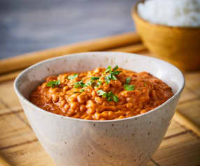 Dahl de lentejas (curry con lentejas)