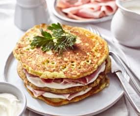 Kräuter-Pancakes
