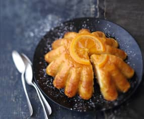 Gâteau de riz crémeux à l'orange