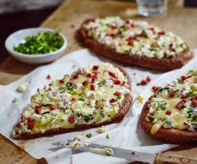 Schinken-Zucchini-Fladen