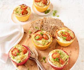 Pute-Ei-Muffins