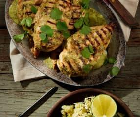 Chili-Lime Chicken with Cauliflower Rice