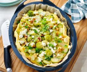 Rosenkohl-Feta-Omelette