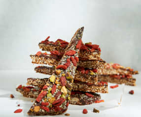 Dark Chocolate Quinoa Bark