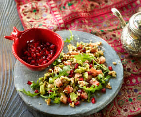Rucolasalat mit Granatapfel - Gavurdağ Salatası