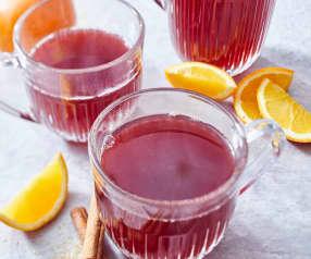 Cranberry-Holunder-Punsch