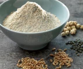Farine de céréales ou de légumes secs