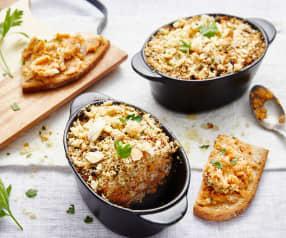 Brandade de lieu à la patate douce