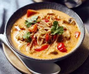 Soupe Tom Kha Gai au lait de coco