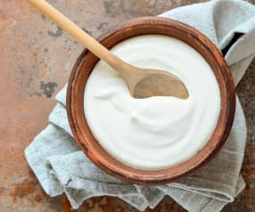 Natural yoghurt (mixing bowl method)