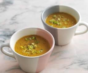 Sopa marroquina de cenoura