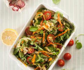 Ensalada de verduras guisadas