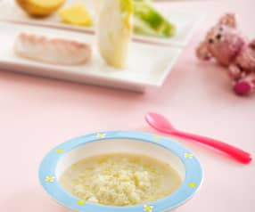 Pasta con hinojo y merluza