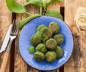 Polpettine di spinaci e ricotta
