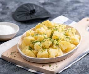 Gotowanie dużej porcji ziemniaków (z osłoną noża miksującego)