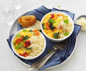 Légumes au curry