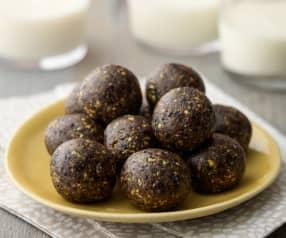 Cherry Pistachio Energy Balls