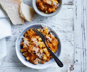 Mini vegetable pasta (10-12 months)