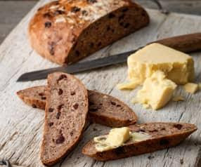 Pecan and Cranberry Rye Bread