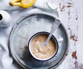 Banana coconut custard (6-9 months)