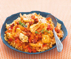 Jambalaya de poulet