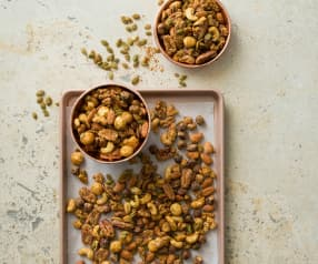 Spiced roasted mixed nuts