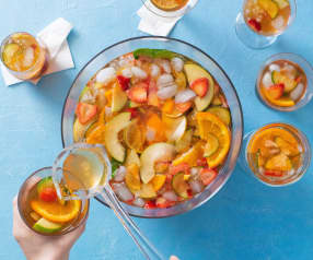 Pimm's fruit punch