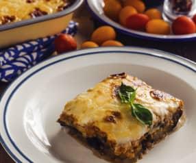 Moussaka di lenticchie