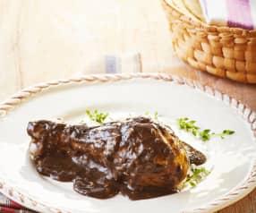 Chicken in Huitlacoche Sauce