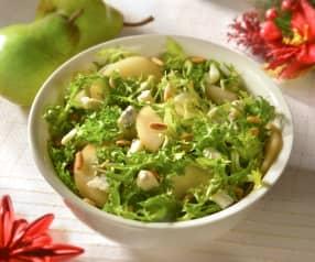 Insalata riccia con pere e Gorgonzola