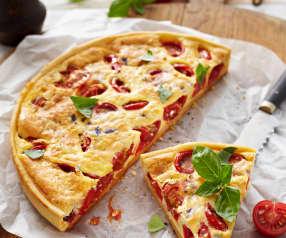 Tomaten-Mascarpone-Quiche