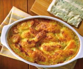 Patate gratinate al Gorgonzola