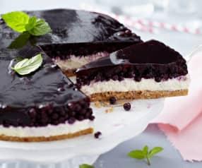 Borůvkový dort s mascarpone