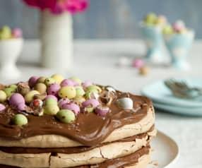 Velikonoční čokoládový Meringue