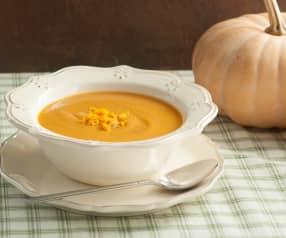 Roasted Pumpkin Soup with Orange