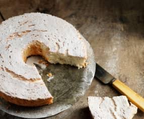 Angel cake de avelã