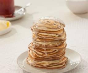 Pancake alla vaniglia e cannella