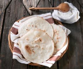 Bezglutenowy chlebek arabski